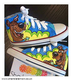Scooby Doo – Custom Sneaker Design