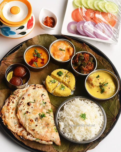 Lunch Menu Indian Vegetarian