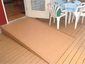Ramps For Wheelchair Plywood Painted With Sand For Wheelchair Ramp Diy Wheelchair Ramp Shed Ramp