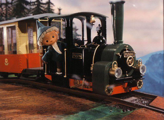 Sonderausstellung Sandmannchens Traumwelt Puppen Modelle Und Fotos Lokomotive Kinder Filme Ostalgie