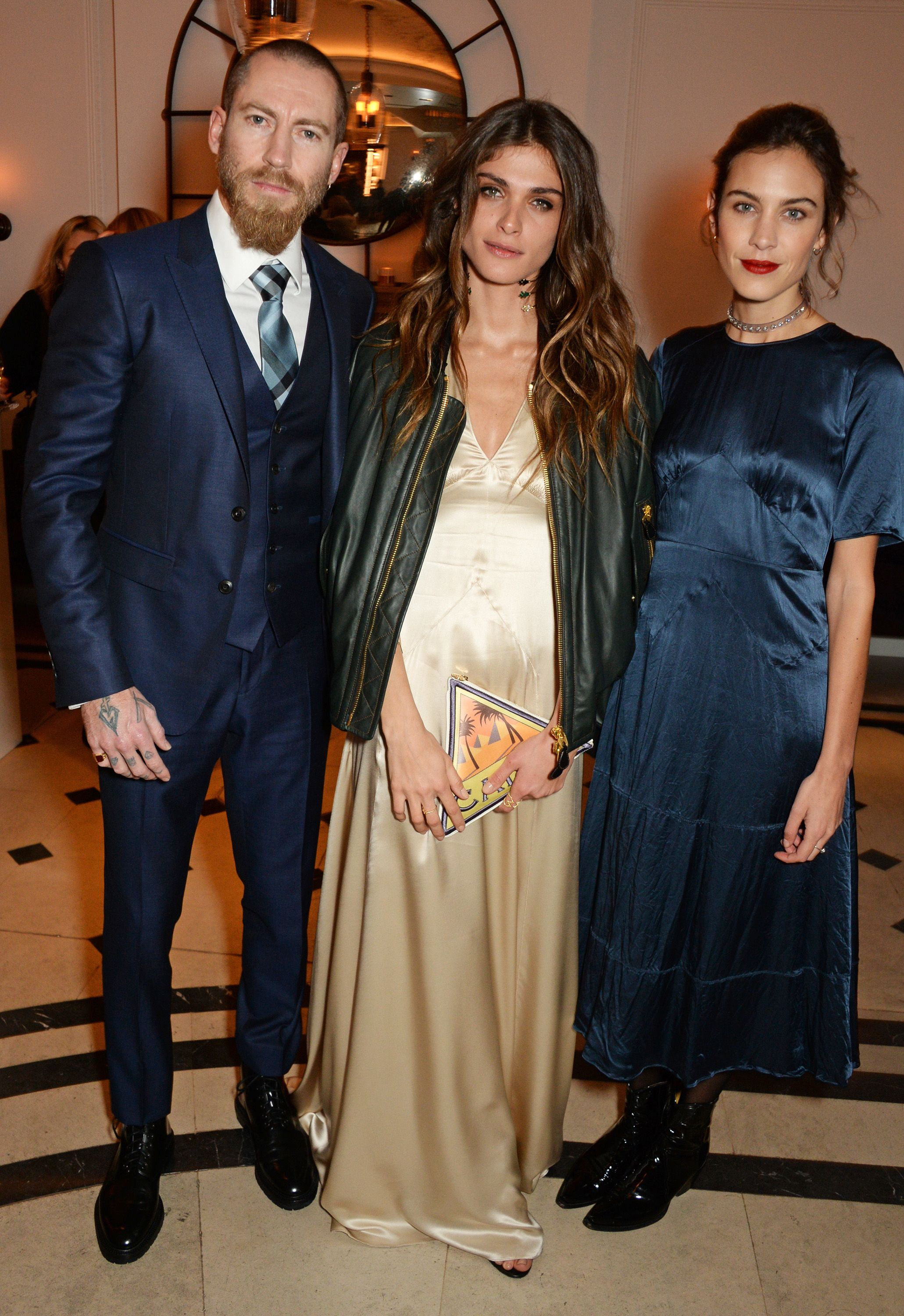 b6172a9a560 Our 11th #mytheresa woman Elisa Sednaoui Dellal joined Justin O'Shea ...