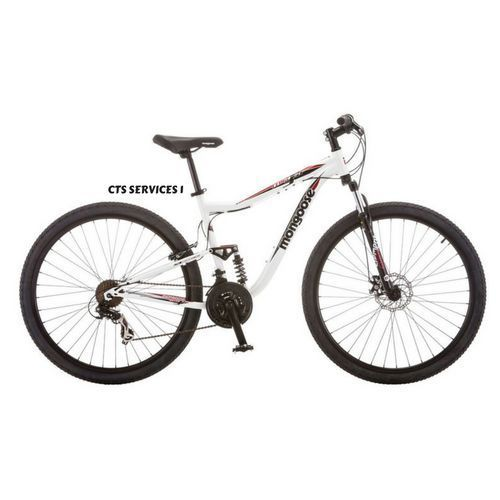 Mongoose Men S 29 Mountain Bike Aluminum Frame Bicycle Shimano