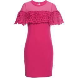 Spitzenkleid Flügelärmel in pink für Damen von bonprix Bodyflirtbodyflirt #rosaspitzenkleider