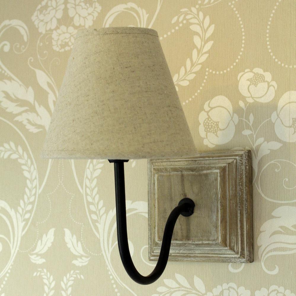 Beige linen cottage wall light beige linens and walls beige linen cottage wall lamp aloadofball Images