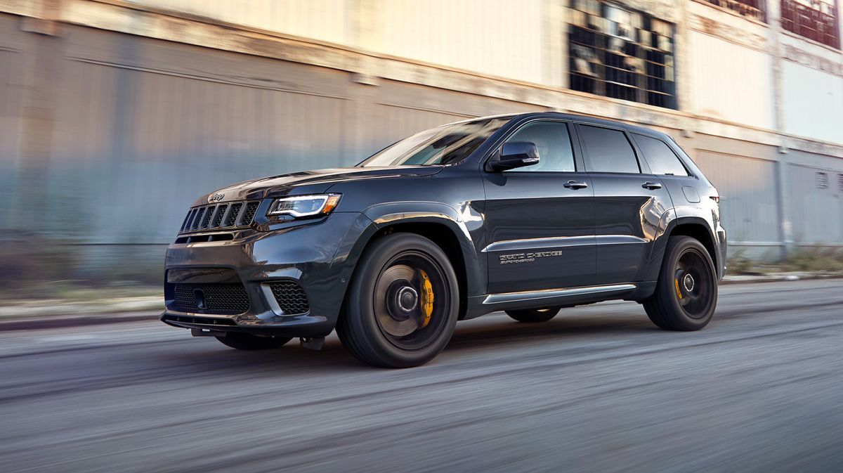 2020 Jeep Grand Cherokee Trackhawk Review Pricing And Specs