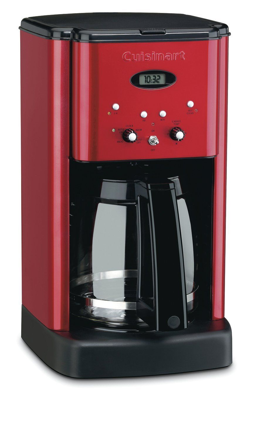 Red+Coffee+Pot++Cuisinart+DCC1200+Brew+Central+12Cup