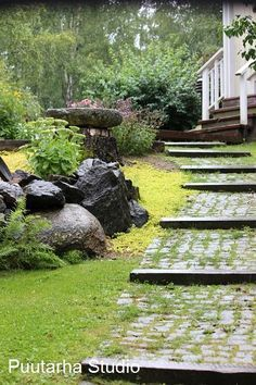 Gardens · Sloping Path ...