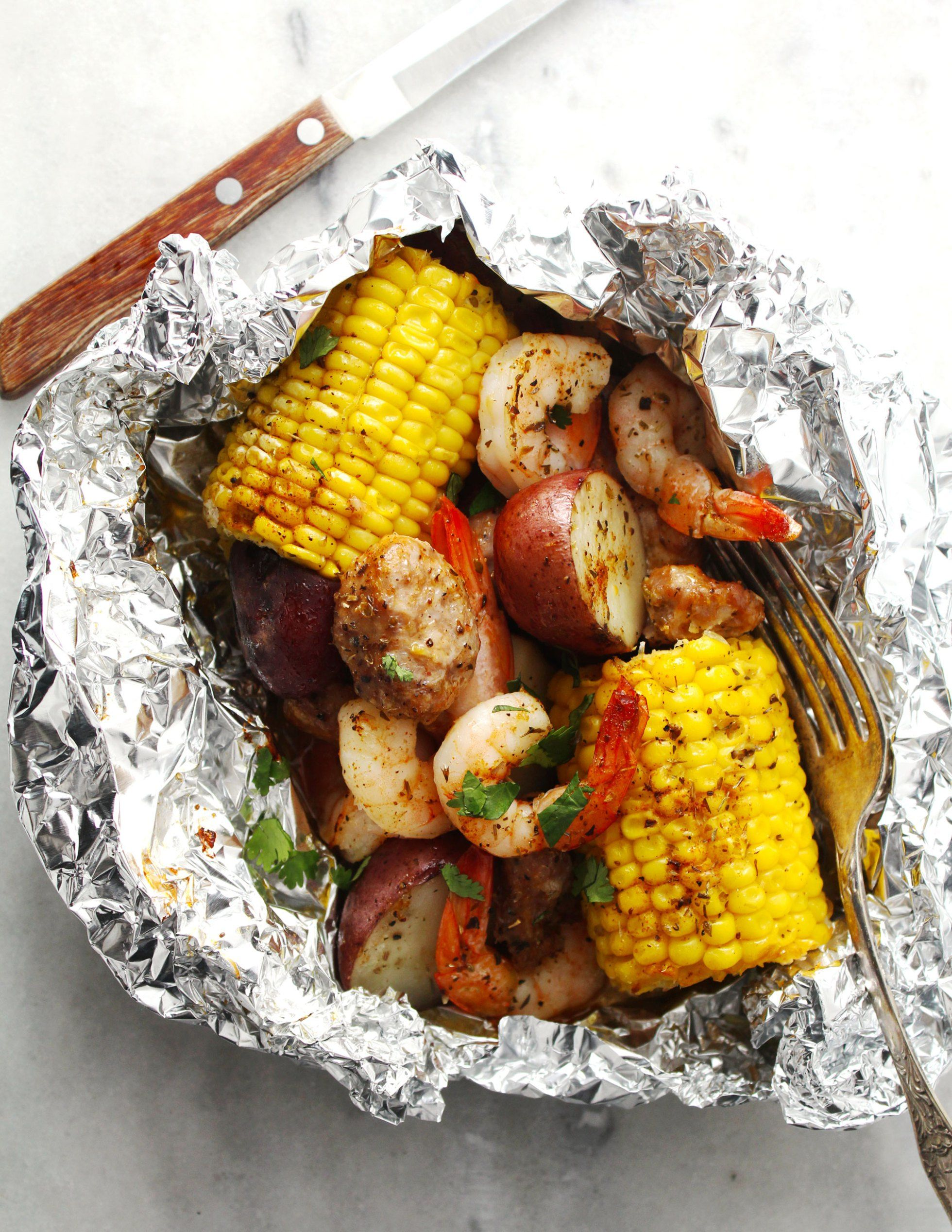 Foil Packet Low Country Boil Recipe Easy Dinner Recipes Family Dinner Recipes Dinner