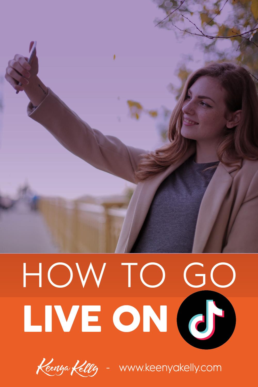 How To Go Live On Tiktok Blog Marketing Dream Business Social Media Platforms