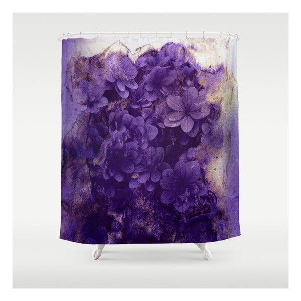 Purple Flowers Shower Curtain Flower Shower Curtain Flower Shower Purple Shower Curtain