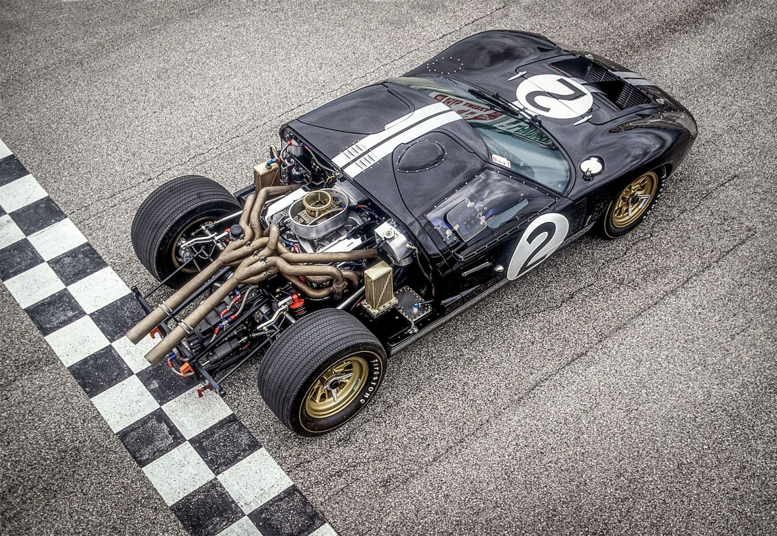 The Life And Times Of The 1966 Le Mans Winning Ford Gt40 Mk Ii Ford Gt40 Ford Classic Cars Ford Gt
