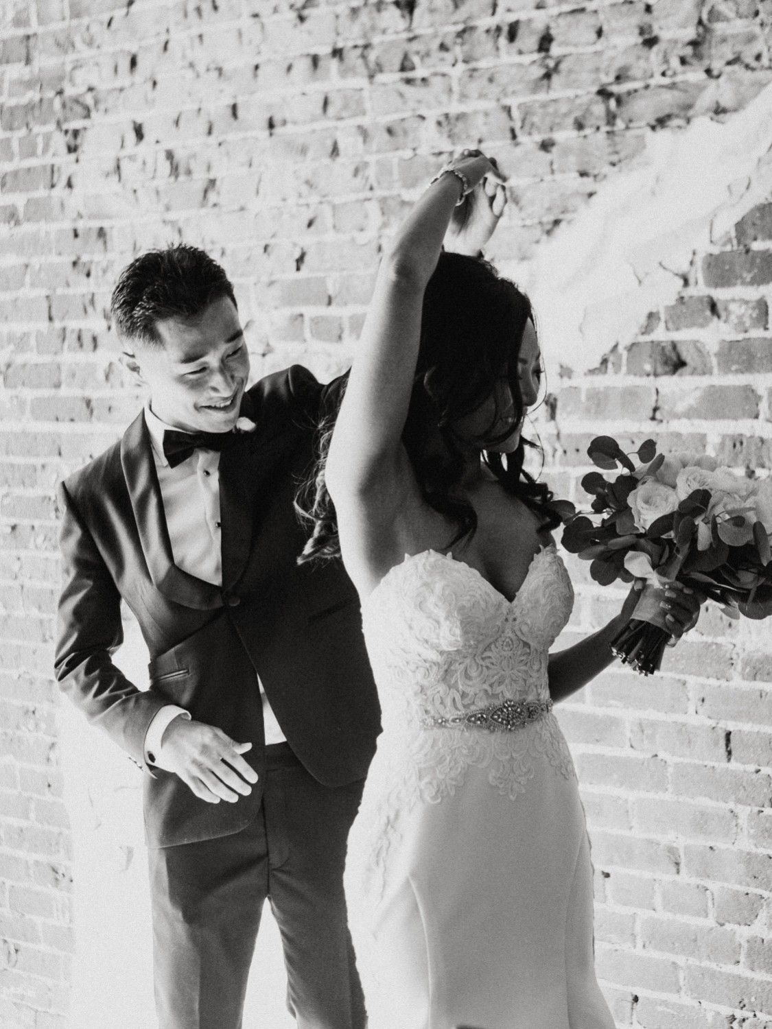 Long beach wedding photographer  Burgundy  Navy Wedding with touches of Gold at the historic Loft on