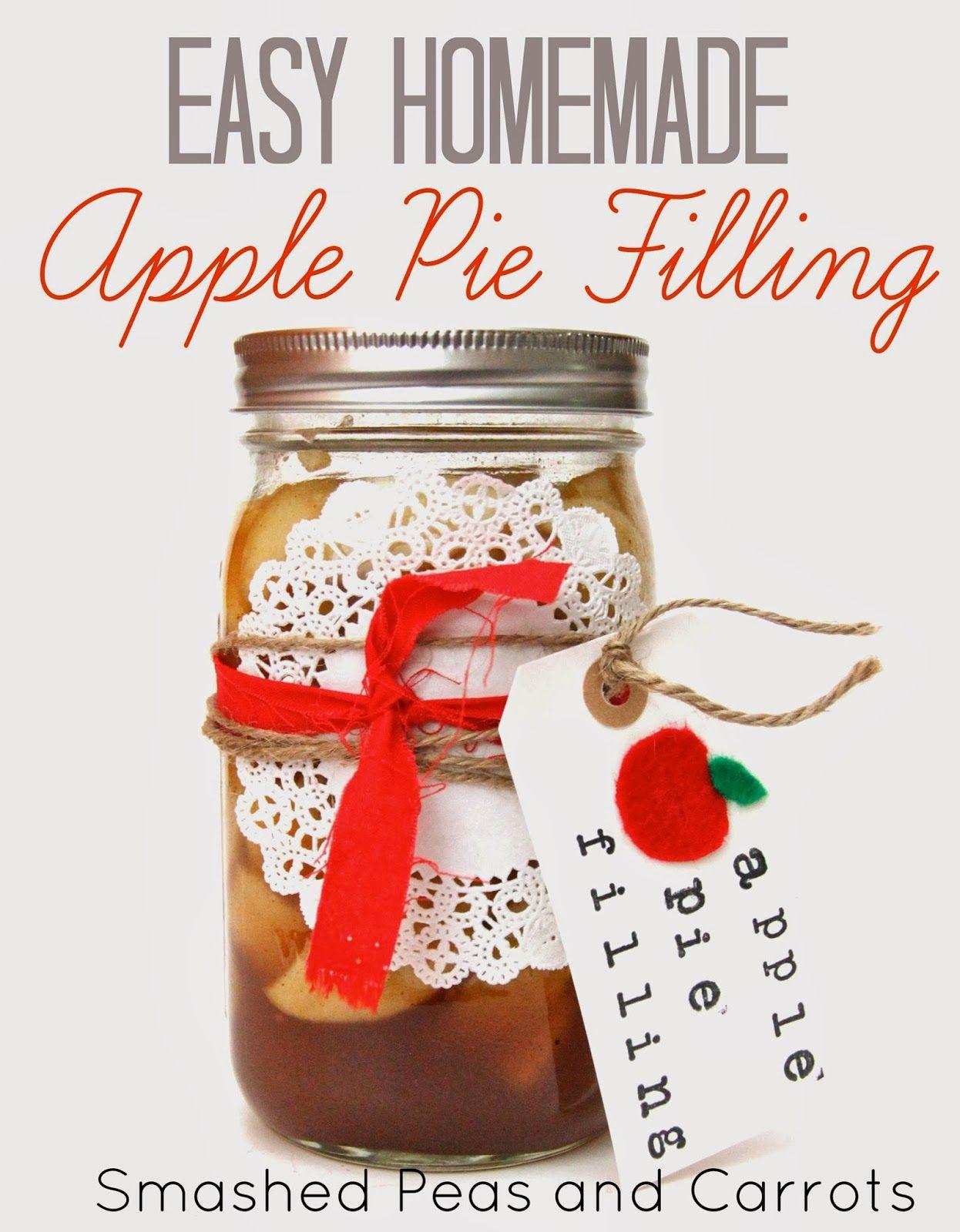 RECIPE: Easy Homemade Apple Pie Filling @smashedpeas