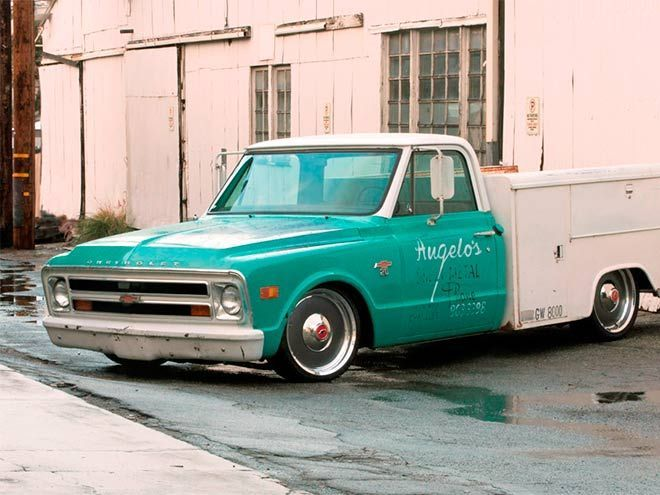 The 1968 Chevy Custom Utility Truck That Nobody S Seen Custom