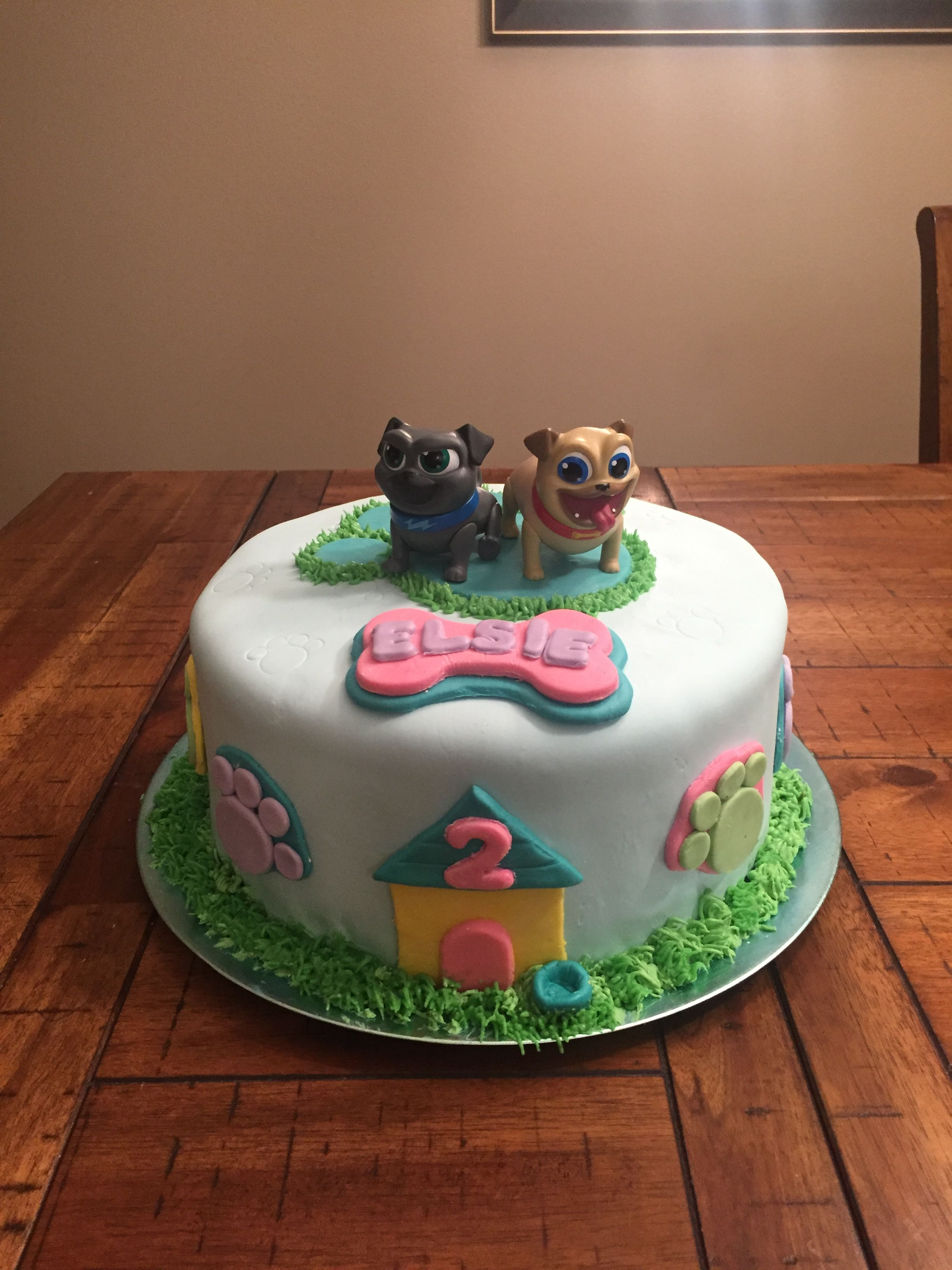 Spice Cake With Cookie Butter Frosting Puppy Birthday Parties