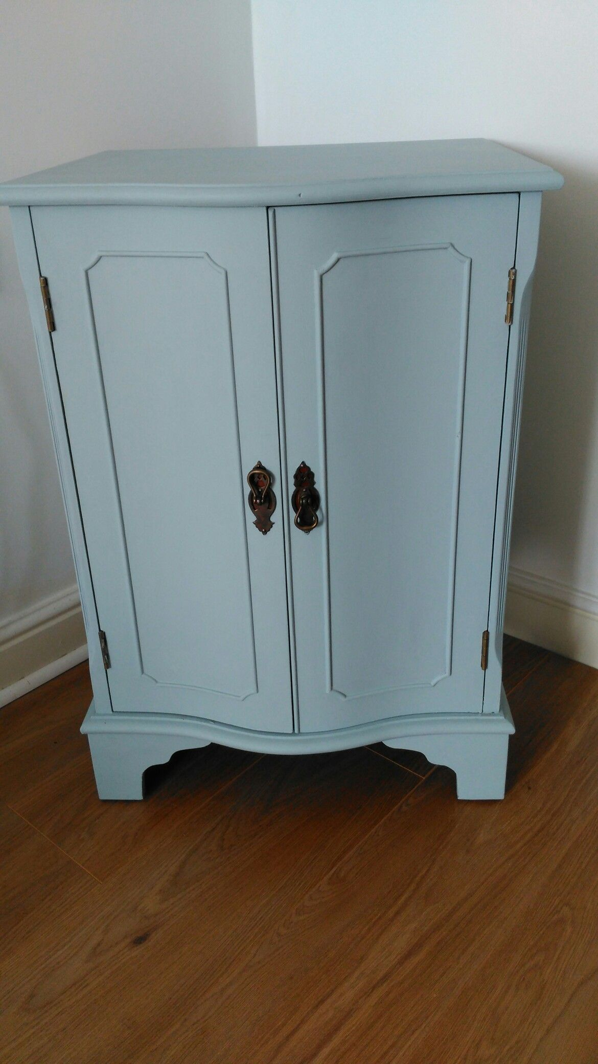 Ronseal Chalky Furniture Paint Duck Egg Blue Painted