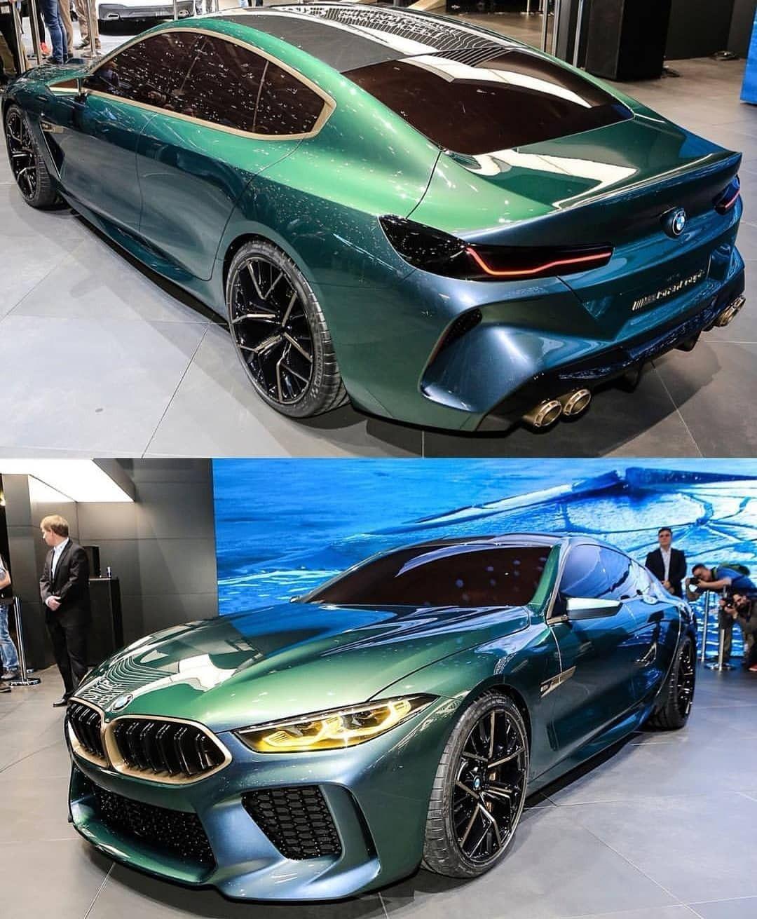 Bmw Concept M8 Gran Coupe Bmw Concept Bmw Coupe Cars