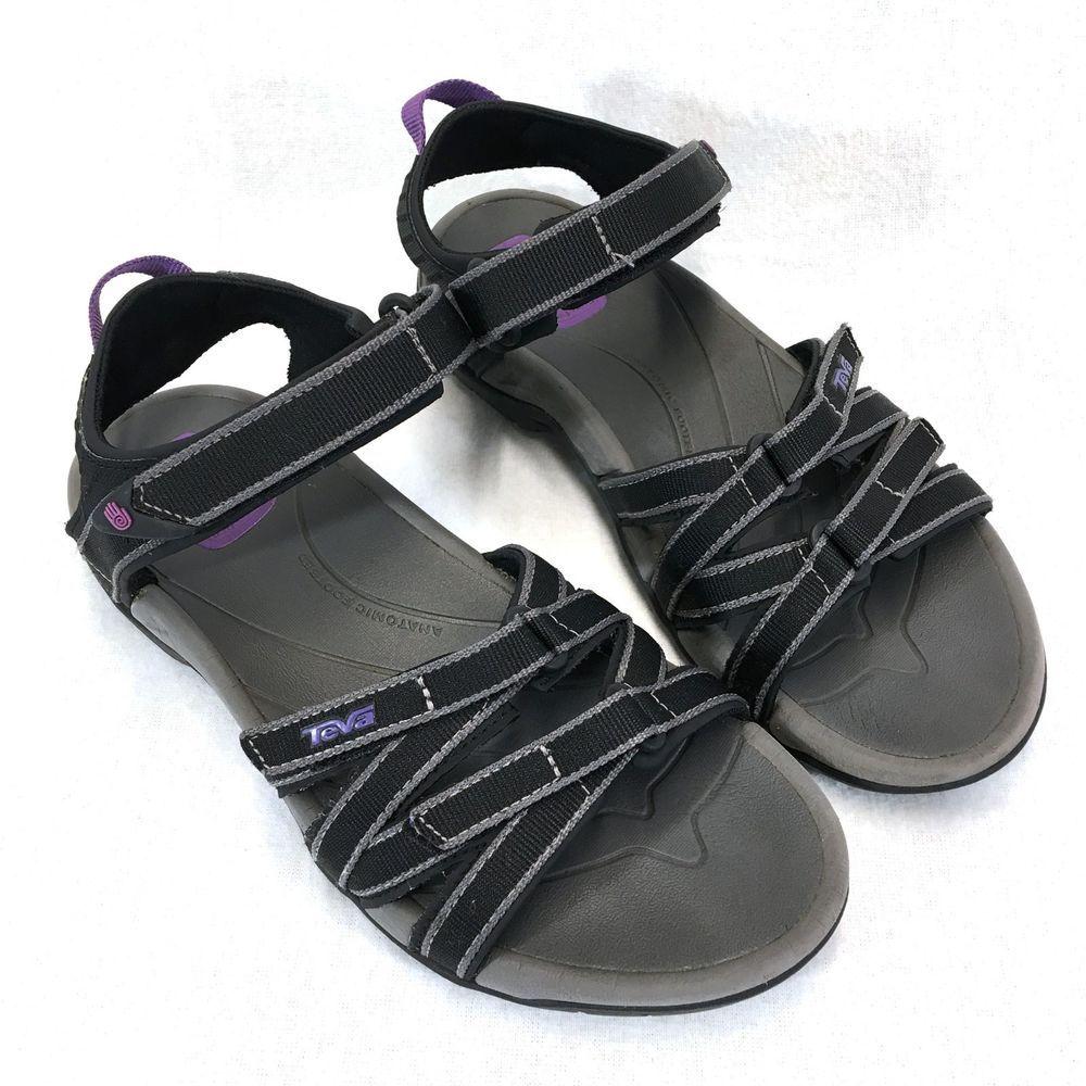 091fde849246 Teva Tirra 4266 Sport Sandals Womans 7 Medium Black Grey Water Hiking  Travel  Teva  SportSandals  WalkingHiking