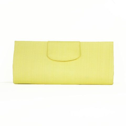 Lovely silk in pastel yellow - #FairTrade