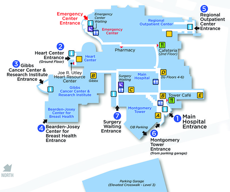 Dartmouth Hitch Medical Center Map on