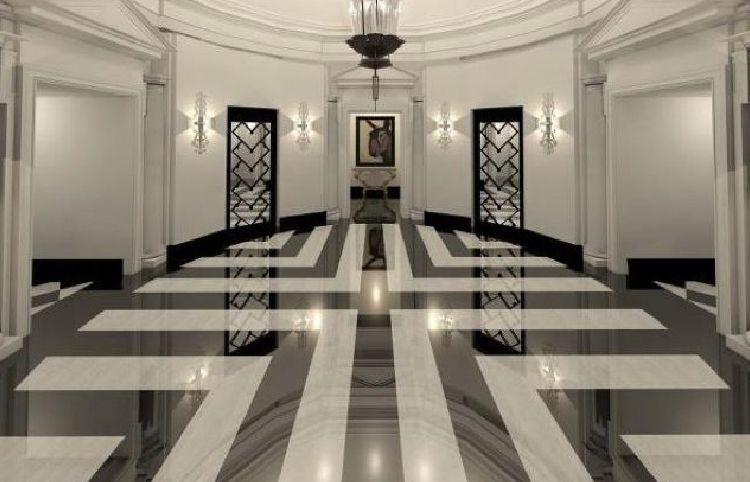 14 Elegant Marble Floor Designs Floor Design Lobby Design