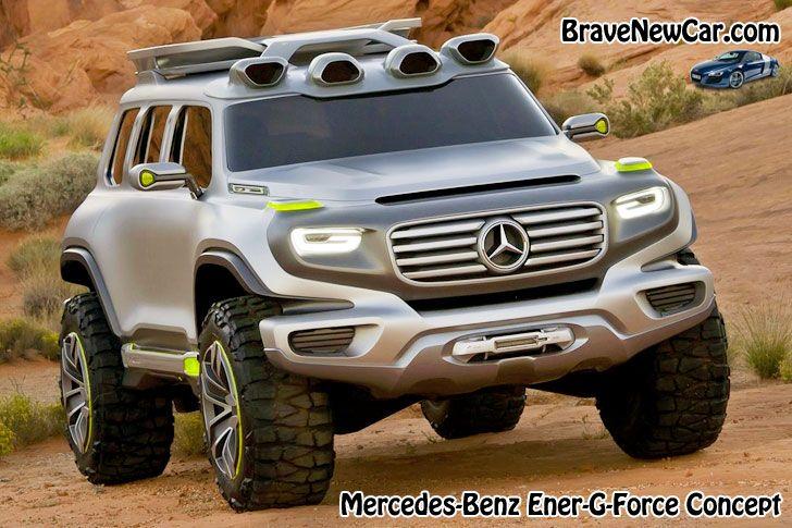 2017 Mercedes-Benz G-Class concept