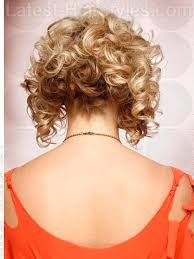 Image Result For Long Front Short Back Bob Curly Chic