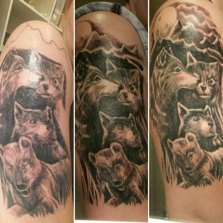 My Wolf Pups Kids Tattoo Tattoos For Kids Tattoos Skull Tattoo
