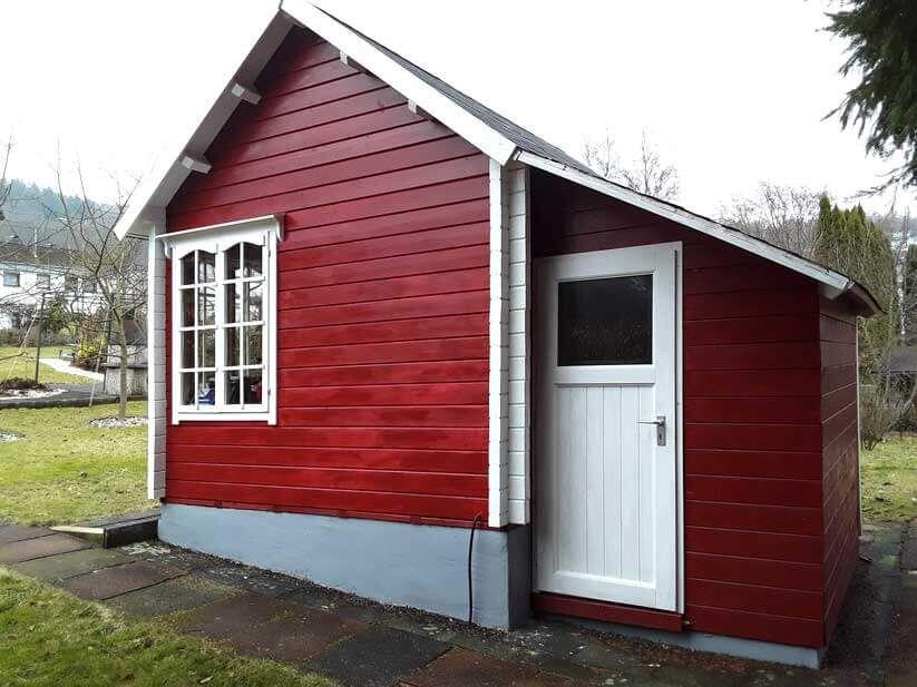 Clockhouse mit Anbau im Selbstbau - so toll kann es aussehen