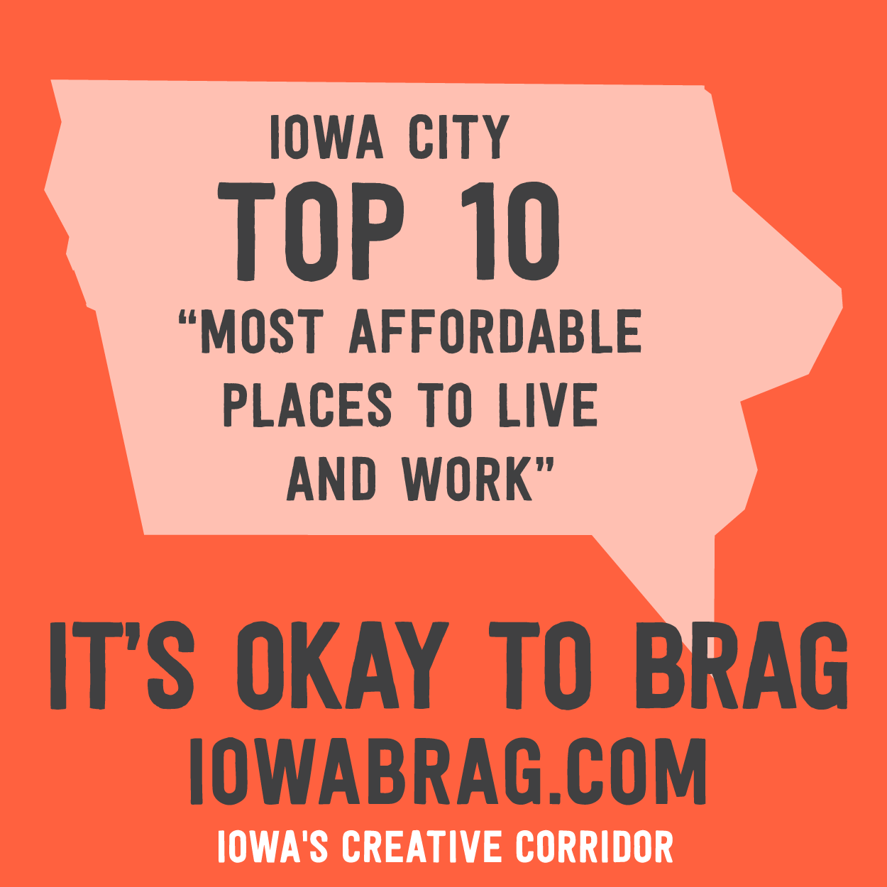 Affordable living we 39 ll take it iowacity ranked top 10 for Affordable places to live