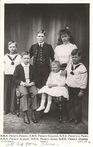 Kinder Von Konig George V Und Konigin Mary Von England Children