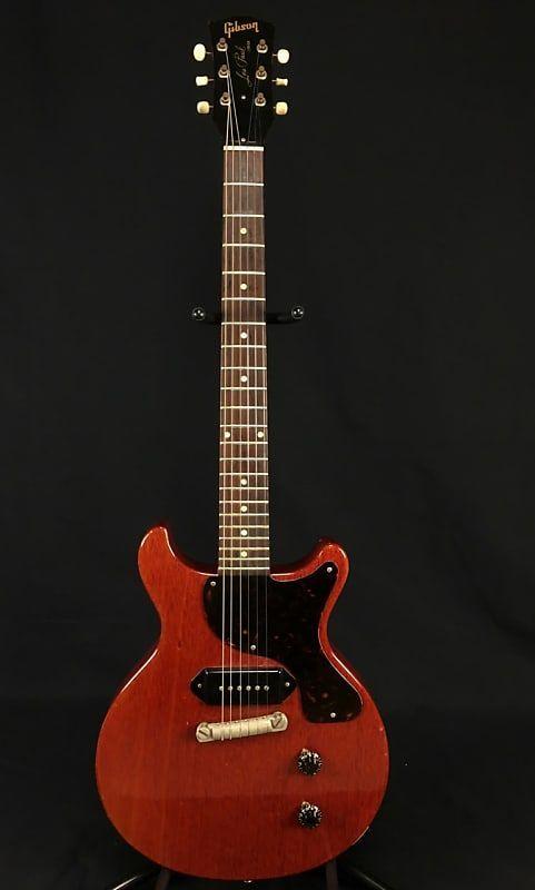 Gibson 1959 Les Paul Junior Jr -- Cherry Red P90 Vintage Guitar #vintageguitars #vintageguitars