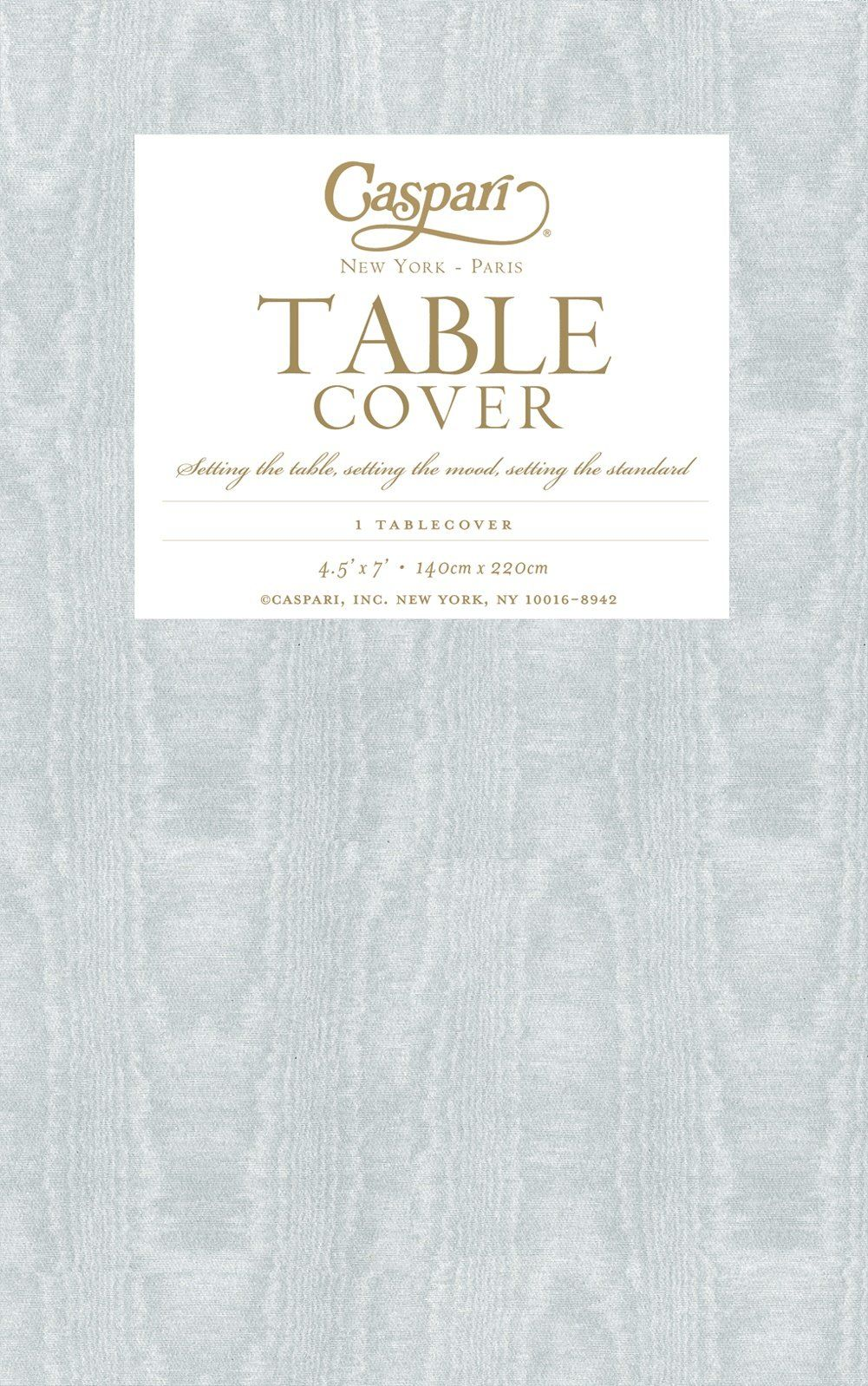 Amazon.com: Caspari Moire Printed Paper Table Cover, 54 By 84 Inch