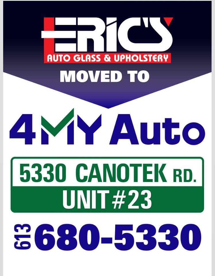Big News As Of Friday The Acquisition Of Eric S Auto Glass And