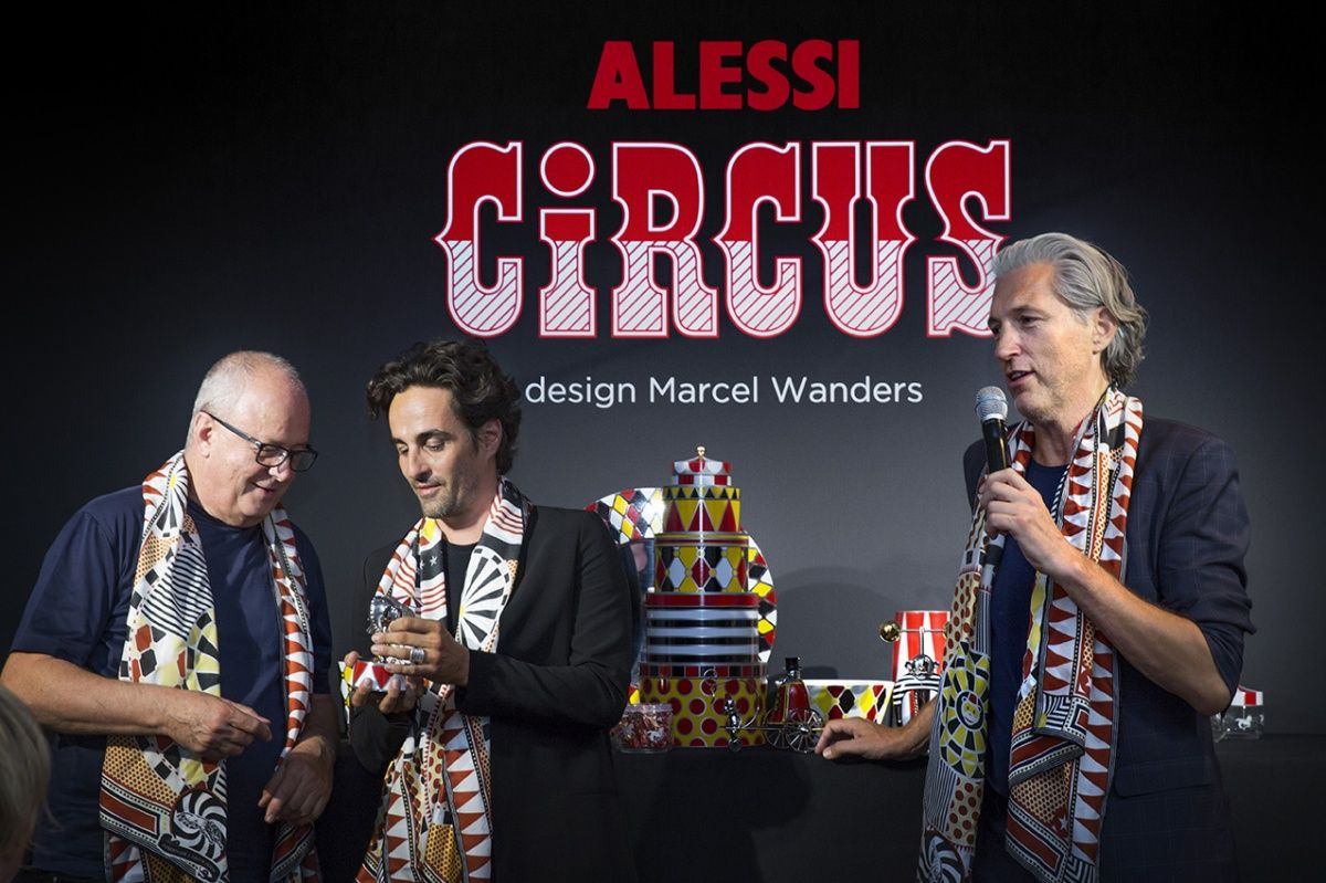 Marcel Wanders presents Alessi Circus Collection