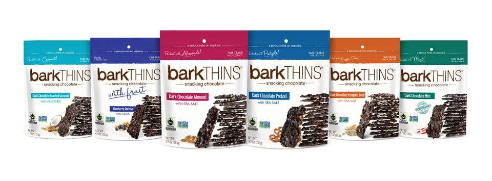 Happy #NationalChocolateDay! Who is celebrating with #barkTHINS!? #snackingchocolate #nongmo #fairtrade #chocolate