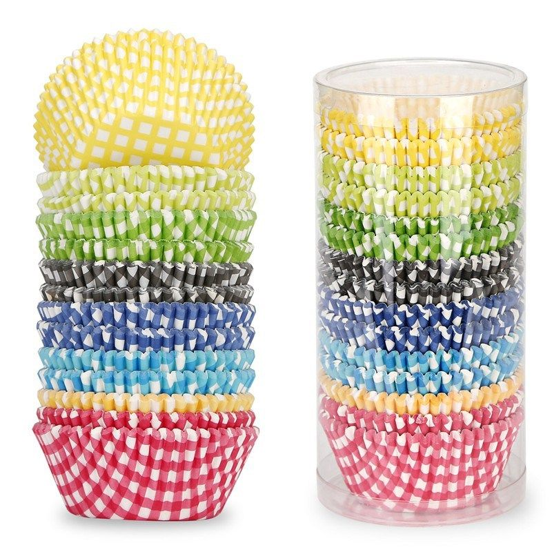 Baking cup in 8 patterns 400count baking cups baking