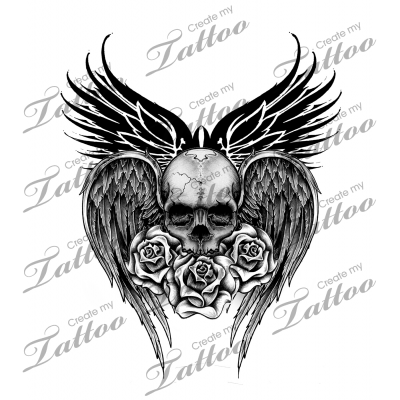 Stomach Tattoos 130 That Will Make You Want One!  |Skull Tummy Tattoo Wings