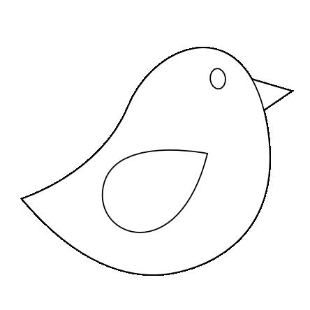 Clip Art Colorful Animal Bird Clipartist Net Svg Bird Template Bird Outline Black And White Birds