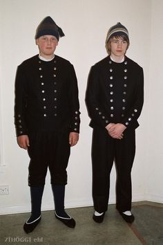 The Male Part Of The Icelandic Old Time Traditional Clothes Icelandic Clothes National Dress Traditional Outfits