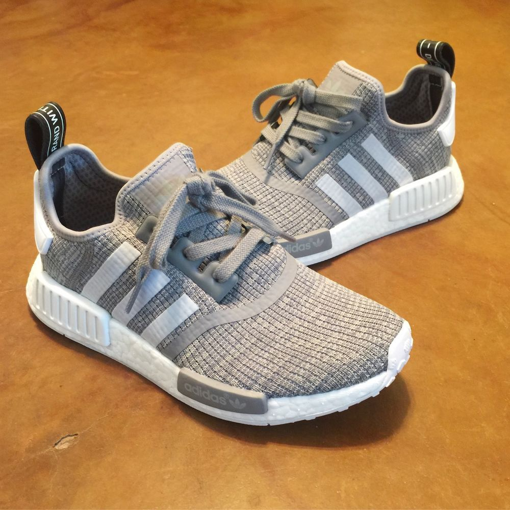 Adidas NMD R1 boost runner solid gray DGH Glitch gray white camo