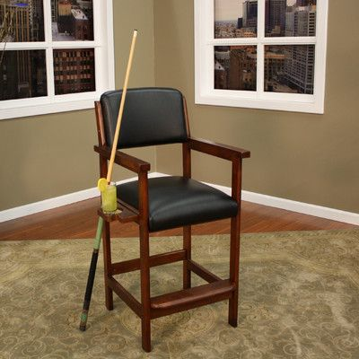 American Heritage Spectator Chair Finish Suede Game Room Chairs