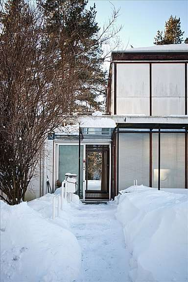 Vettakollen Arkitekt Arne Korsmo Planetveien 12 Oslo 1955 Eiendom Arkitektur Hus