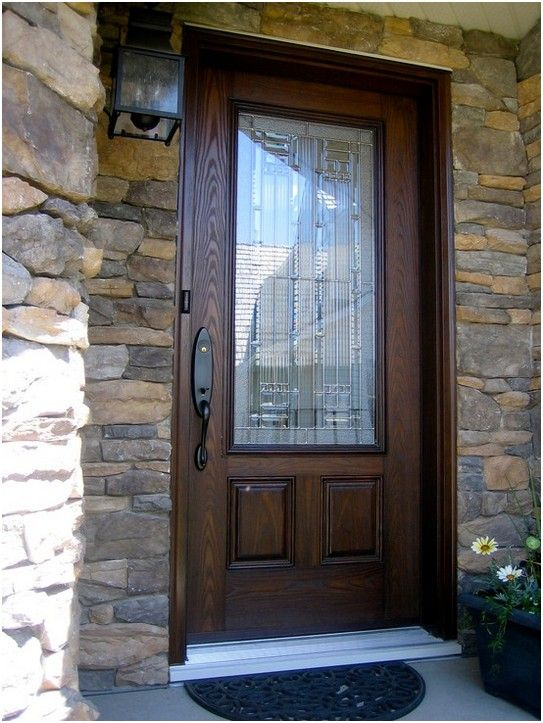 With A Provia Fiberglass Entry Door Like This One You Get