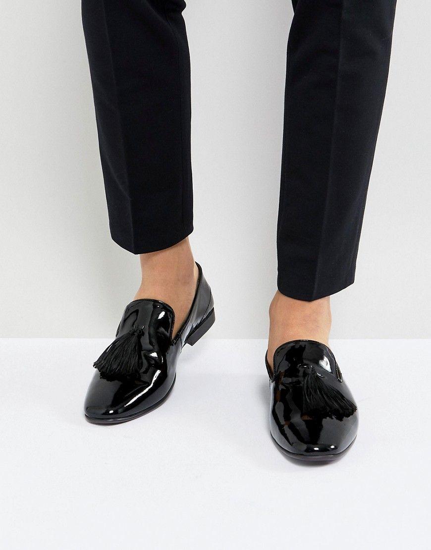 Kg By Kurt Geiger Patent Tassel Loafers