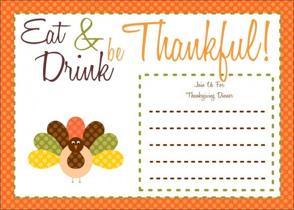 free thanksgiving printables from the party bakery free