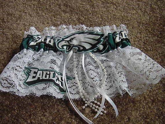 Philadelphia Eagles Football  Bridal Wedding by Embroideryworld, $12.00