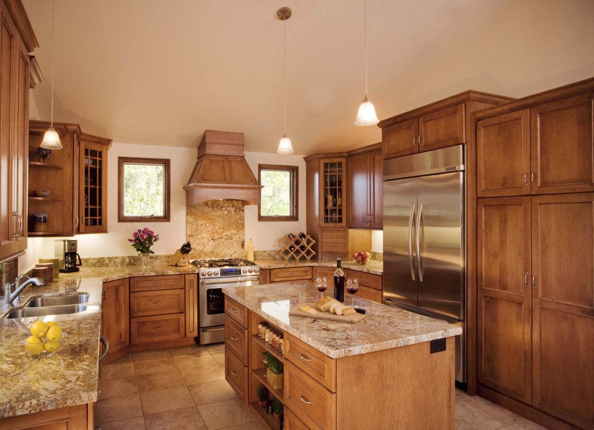 Santa Barbara Transitional Kitchens | Transitional kitchen ...