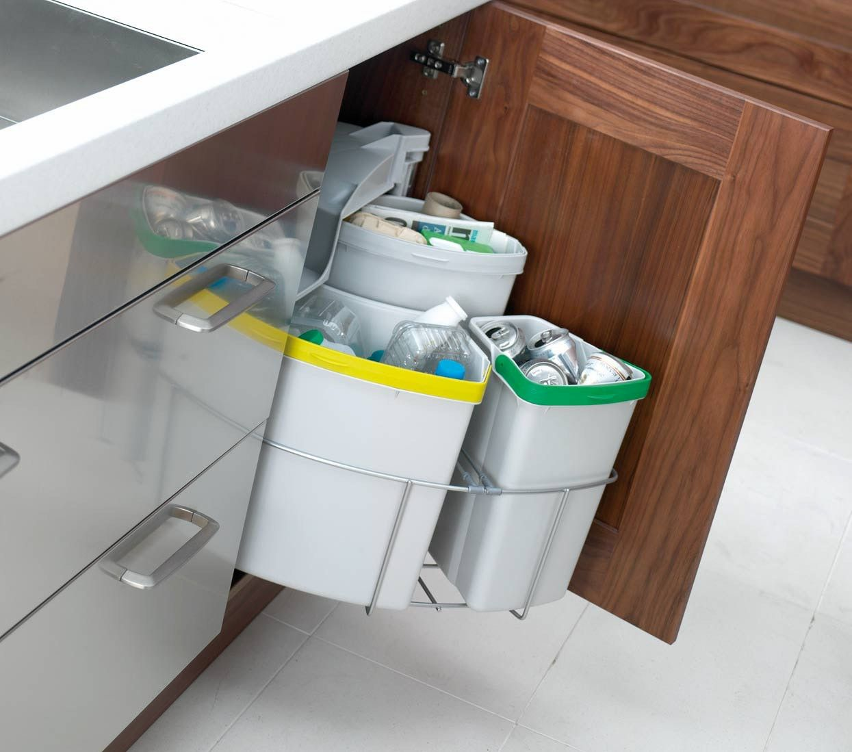99 kitchen recycling bins for cabinets kitchen cabinets storage ideas check more at htt on kitchen organization recycling id=83513