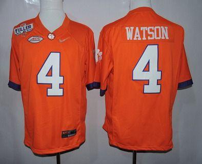 129daa526d5 ... mens clemson tigers 4 deshaun watson orange playoff diamond quest  college football jersey